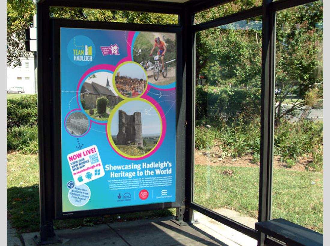teamhadleigh Bus Stop Poster